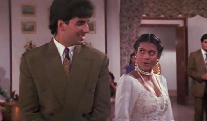 India Tv - Kajol and Akshay Kumar
