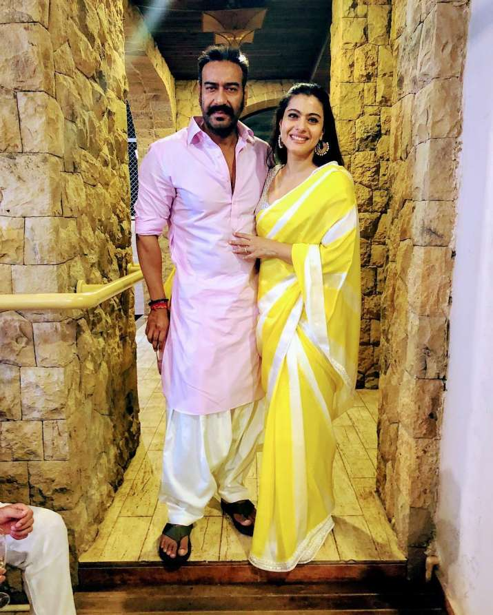 India Tv - Kajol during a chat show revealed that nobody wanted her to get married to Ajay Devgn because the two of them were very different from each other