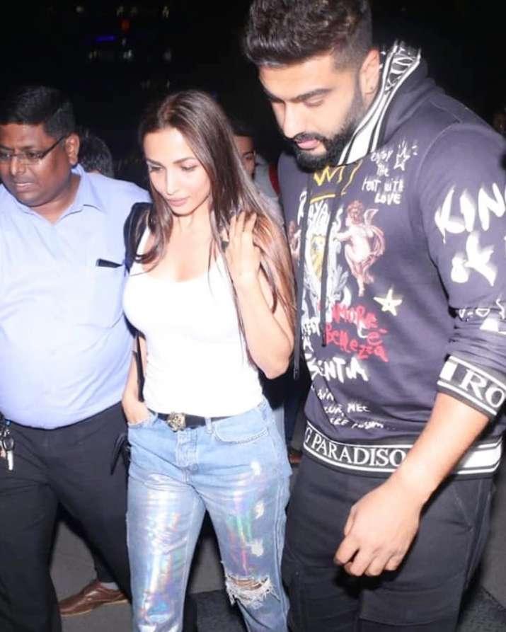 India Tv - Malaika Arora with rumoured boyfriend Arjun Kapoor