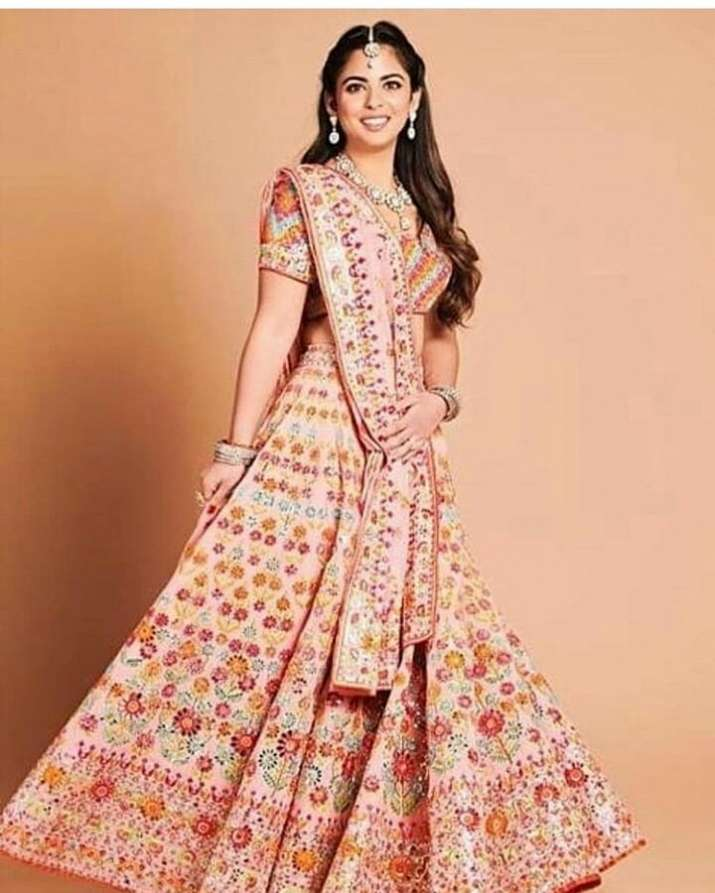 India Tv - Isha Ambani in traditional lehenga