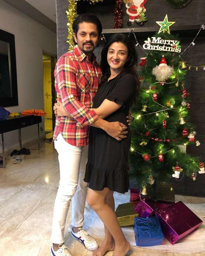India Tv - Jaisheel Dhami and wife Suhasi Dhami