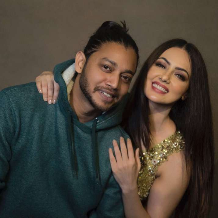 India Tv - Sana Khan declares her relationship with Melvin Louis, the famous choreographer.