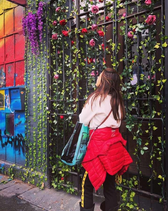 India Tv - Sara Ali Khan shares a post of having fun in New york