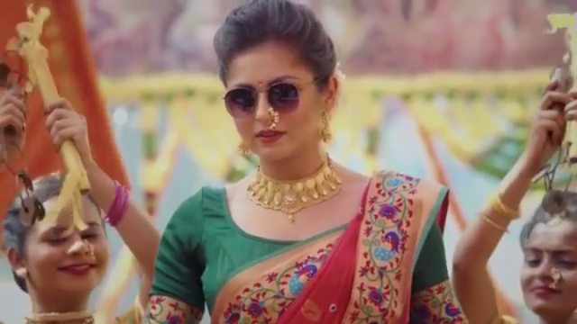 gudi padwa 2019 drashti dhami dance on gathbandhan
