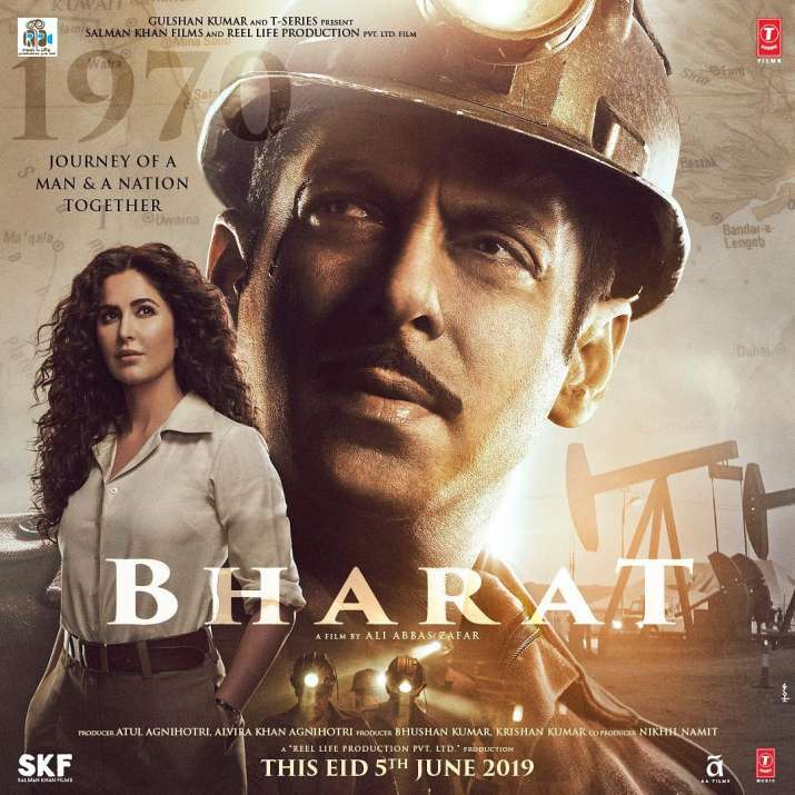 India Tv - Salman Khan Bharat third look with Katrina Kaif, addressing her as Madam Sir!