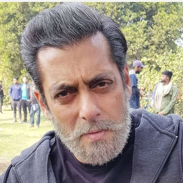 India Tv - Salman Khan in Bharat movie, behind the scene.