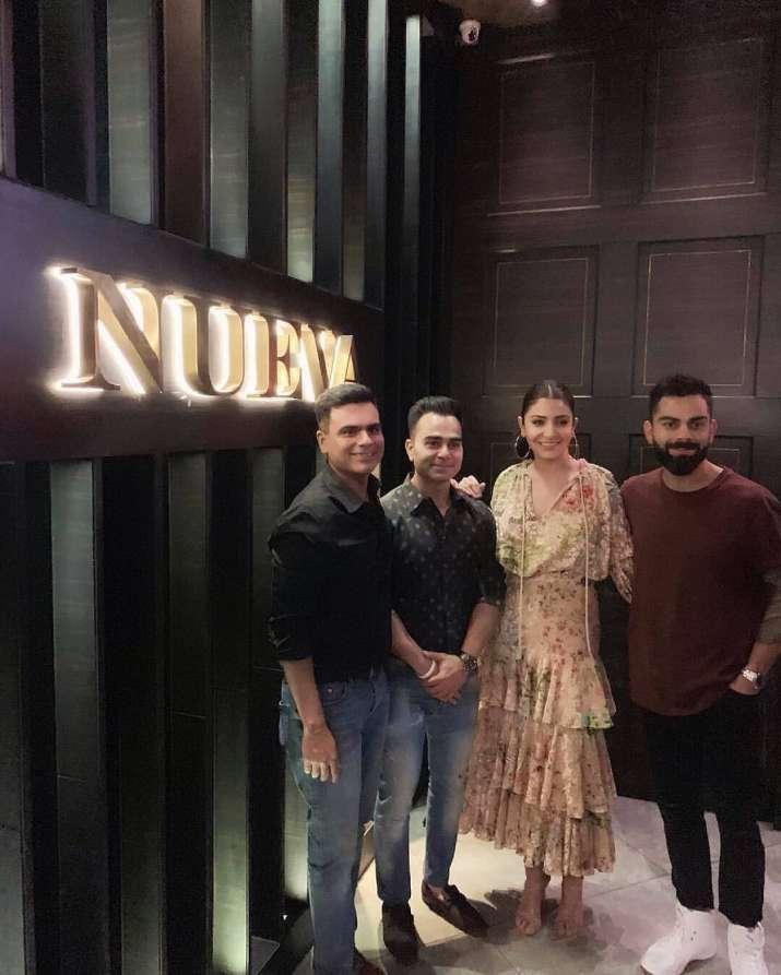 India Tv - Anushka Sharma and Virat Kohli in Delhi