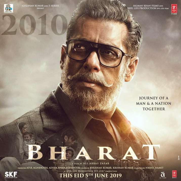 India Tv - Salman Khan in Bharat first poster looks like an old man.