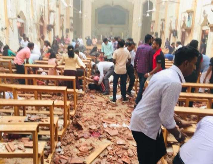 India Tv - Explosions hit churches and hotels during Easter service in Colombo