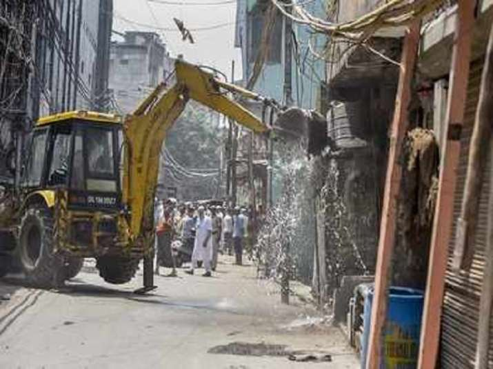 Illegal residential colony demolished in Ghaziabad/ File pic