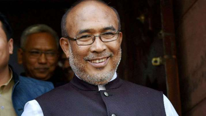 Manipur CM did not jump queue to vote: CM's office