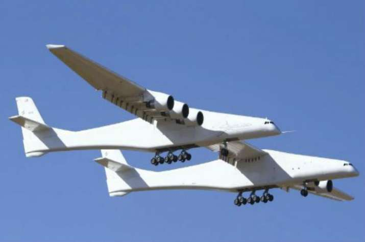 World's largest aircraft, developed by aerospace venture