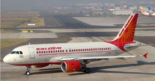 The average number of flights that Air India group, which