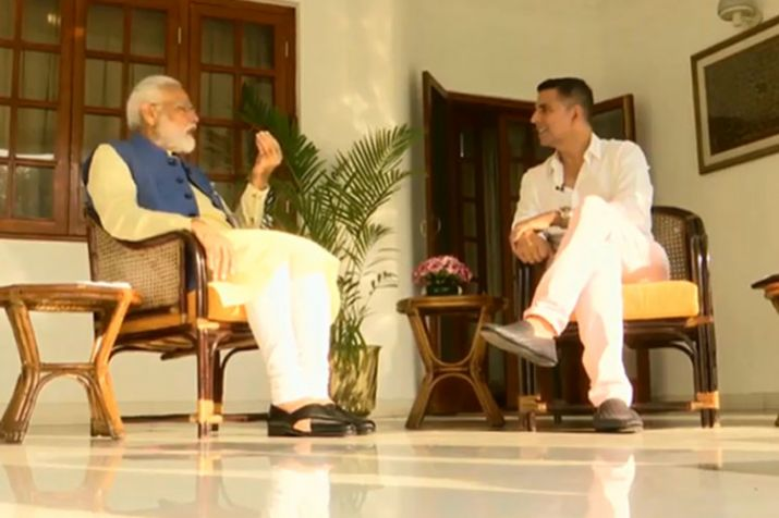 PM Modi shares mind-blowing lifestyle tips with Akshay Kumar in his most personal interview ever