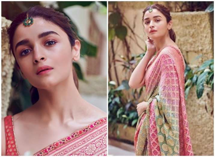 Alia Bhatt slaying in six yards of elegance; See the latest pictures of the actress