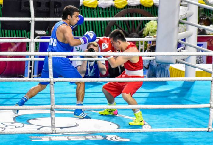 Asian Boxing Championships: Amit Panghal clinches gold medal in men's 52kg category