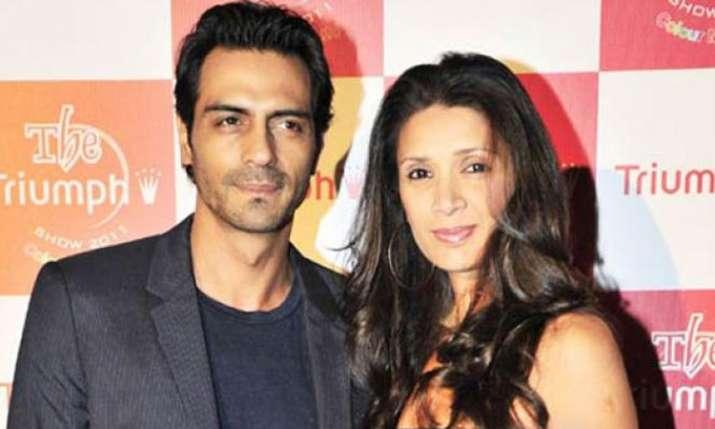 India Tv - Arjun Rampal and Mehr Jesia
