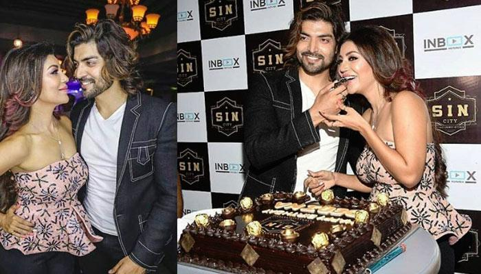 TV stars attend Debina Bonnerjee's birthday bash