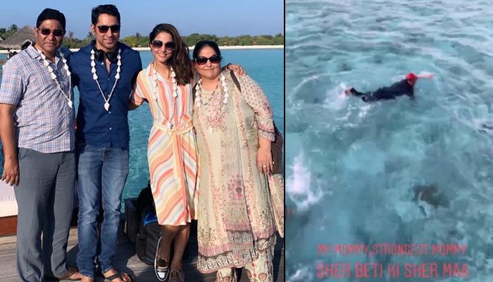 Hina Khan maldives vacation