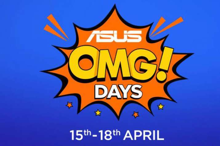 ASUS OMG DAYS sale on Flipkart starts: Offers on Zenfone 5Z, Max Pro M1 and more