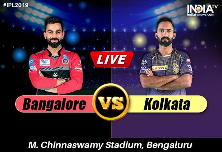Stream Live Cricket, RCB vs KKR, IPL Match: Watch Royal Challengers Bangalore vs Kolkata Knight Ride