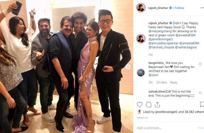 India Tv - Rajesh Khattar's Instagram post