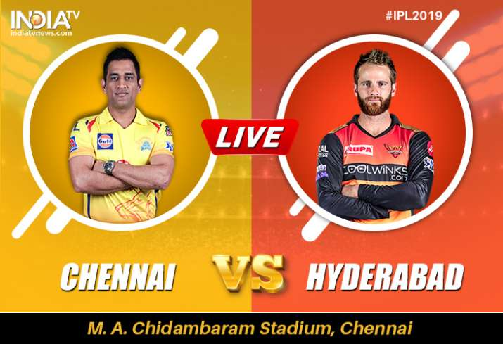 CSK vs SRH, Live Cricket Streaming, IPL: Watch Live Match Chennai Super Kings vs Sunrisers Hyderabad