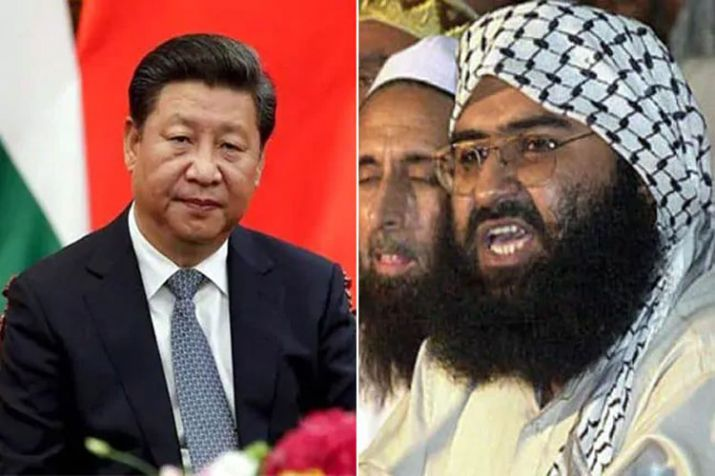 Chinese Premier Xi Jinping   Masood Azhar