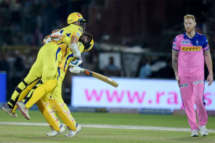 IPL 2019, RR vs CSK: Dhoni, Rayudu fifties guide Chennai to thrilling 4-wicket win over Rajasthan