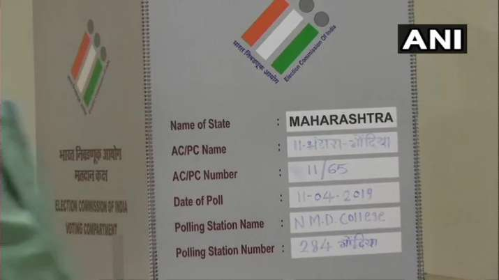 India Tv - Maharashtra: Preparation underway for LokS abha Elections 2019 at booth number 284 in Gondia for the Gondia parliamentary constituency.