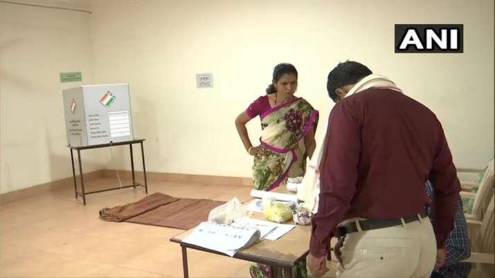 India Tv - Maharashtra: Preparation underway for polling.