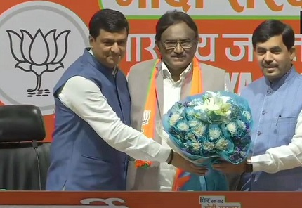 Congress leader S. Krishna joins BJP in Kerala