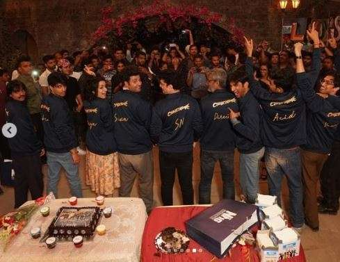 India Tv - Chhichhore wrap up party