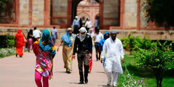 At scorching 43.7 degrees Celsius, Delhi records season's