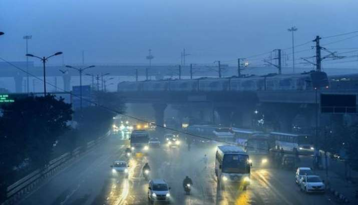 Temperature stays 6-10 degrees down, to rise slowly