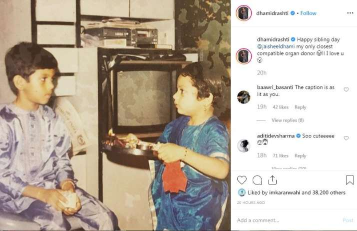 India Tv - Drashti Dhami's Instagram post
