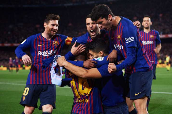 Barcelona focus on Champions League with treble possible