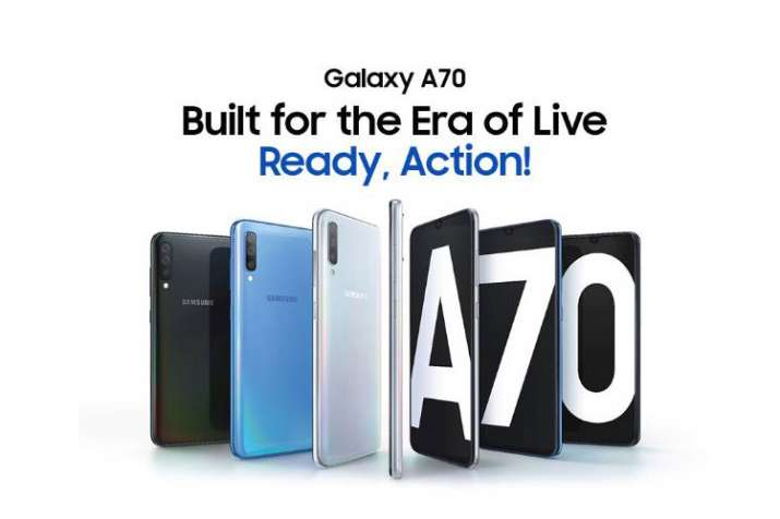 Samsung Galaxy A70 with 6.7-inch Super AMOLED display and Snapdragon 675 SoC up for pre-booking