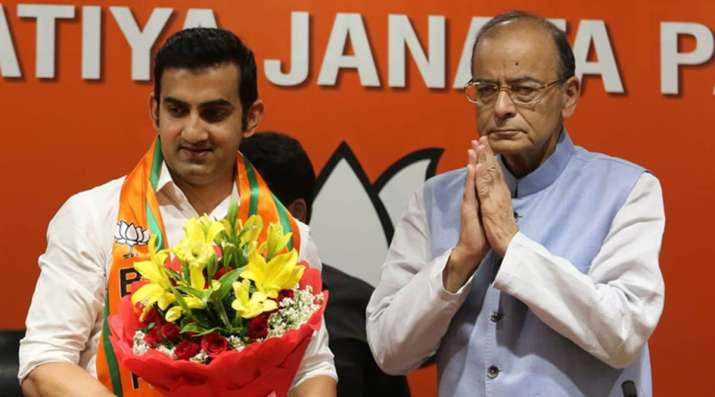 The BJP has fielded Gambhir from the East Delhi