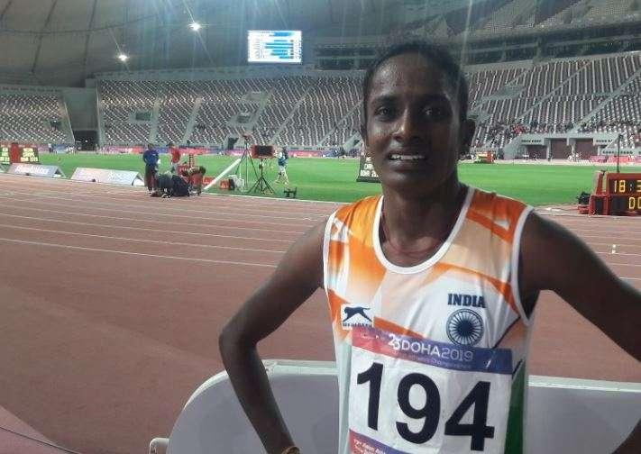 Asian Athletics Championships Gomathi won gold in the women's 800m race