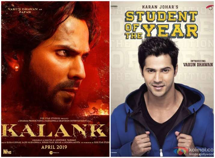 Varun Dhawan 32nd Birthday: More than 10 films in less than 10 years, Kalank actor