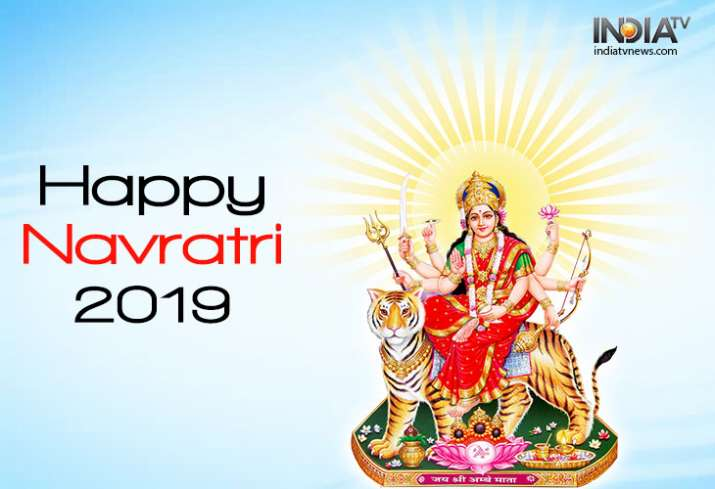 India Tv - Happy Navratri 2019: Wishes, Messages, SMS, Greetings, HD Images and Wallpapers for Facebook