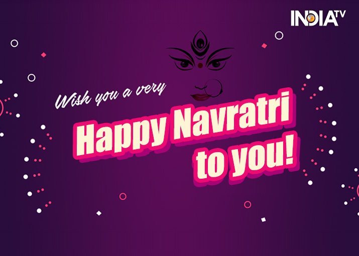 India Tv - Happy Navratri: Quotes, Wishes, Messages, SMS, Greetings, HD Images and Wallpapers