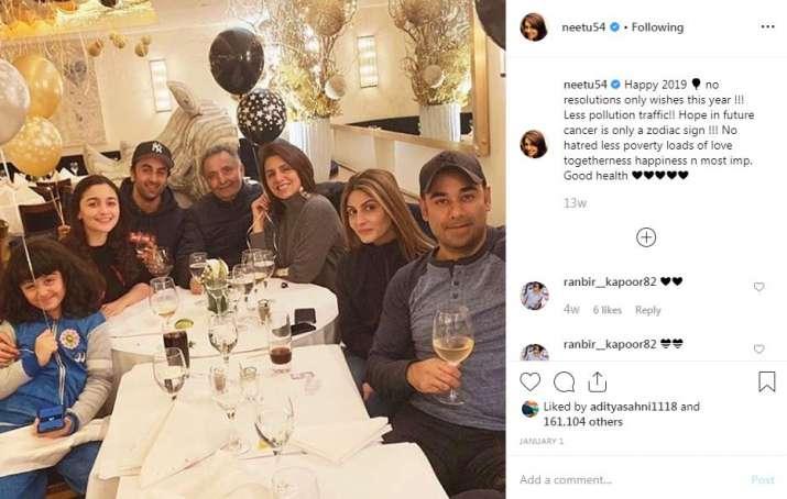India Tv - Neetu Kapoor's Instagram post