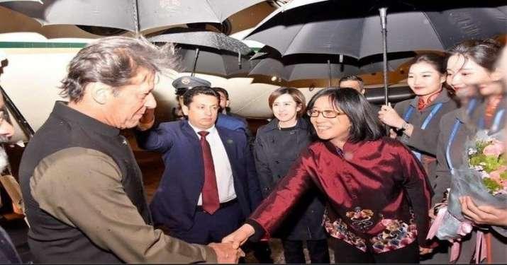 Imaran Khan in China