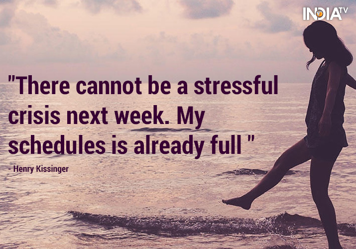 India Tv - Overcome stress with these 10 inspirational quotes