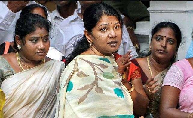 IT raids at DMK MP Kanimozhi's residence | Lok Sabha Polls