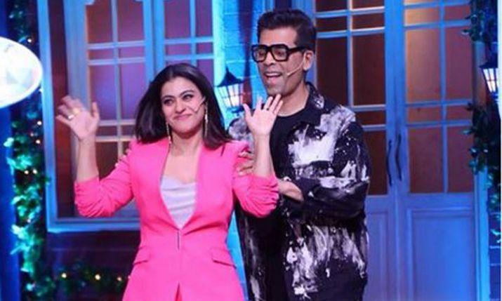 India Tv - Karan and Kajol on The Kapil Sharma Show