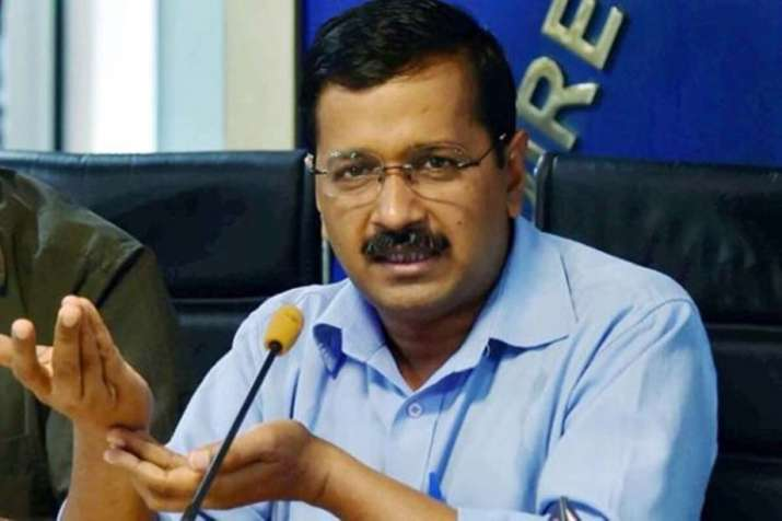 Kejriwal alleged that the Congress candidate was openly