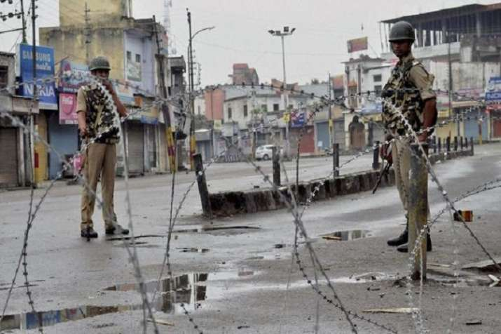 Curfew was relaxed initially for three hours in the entire